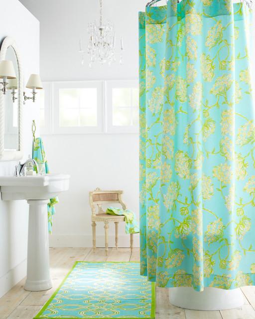 Lilly Pulitzer Bathroom Traditional