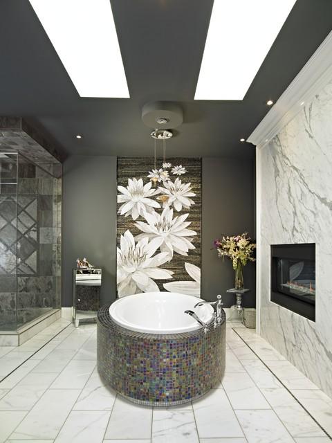 Contemporary Bathroom by Carpet Colour Centre - Carpet One