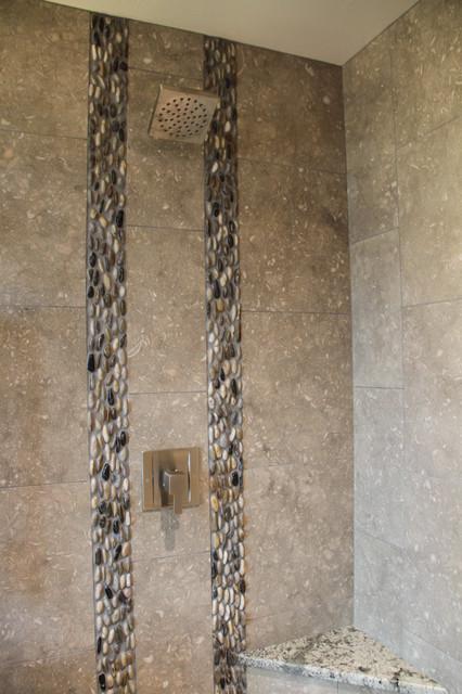 Limestone Bathroom contemporary-bathroom