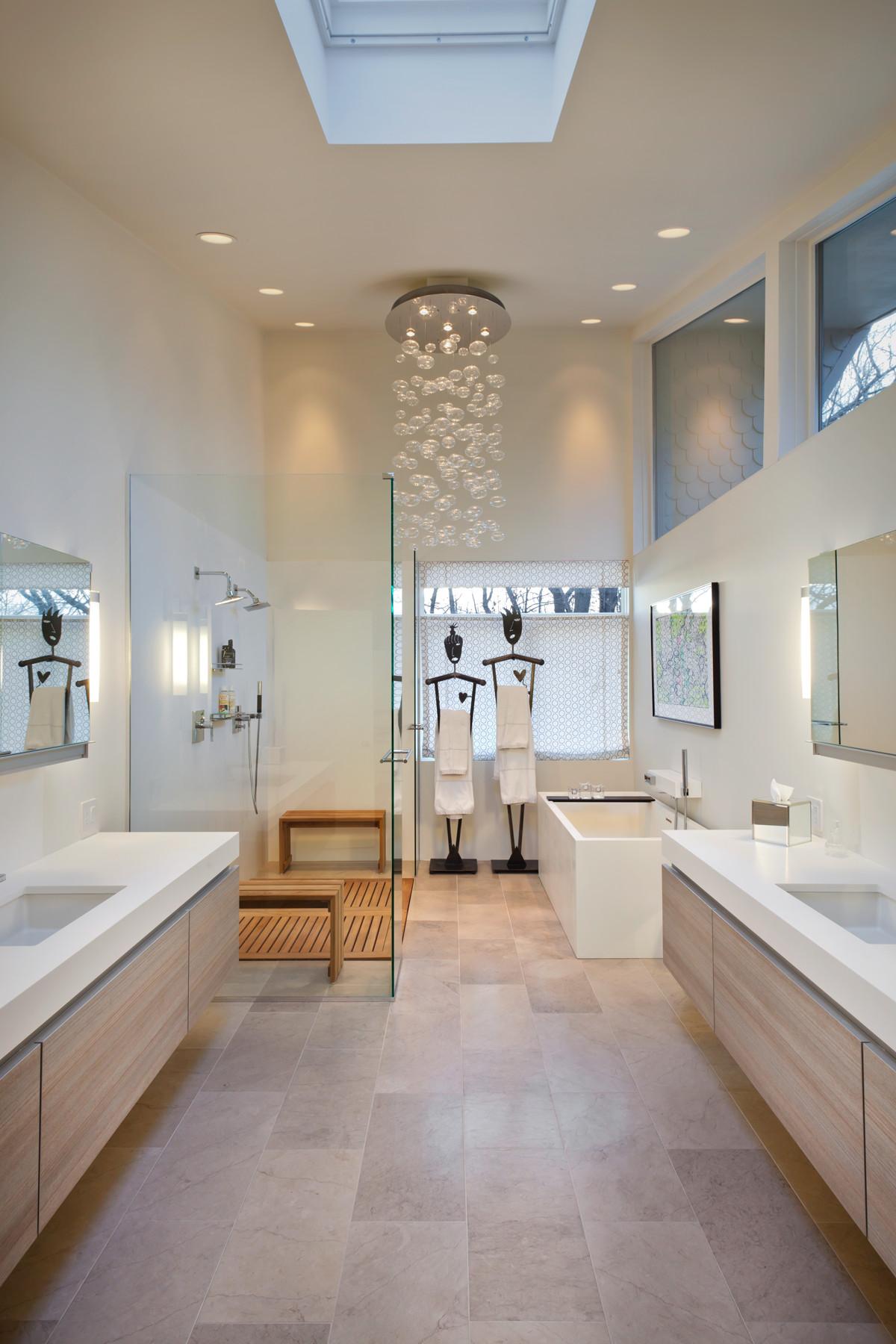 Limestone Floor Tile Contemporary