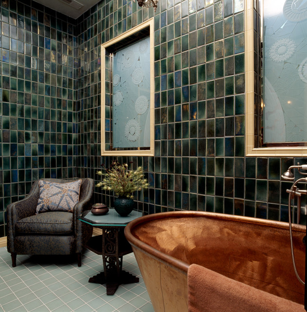 Lincoln Park Residence eclectic-bathroom