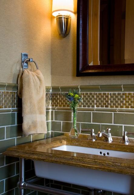 Lincoln Park Residence traditional-bathroom