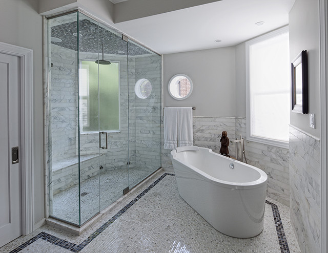 Lincoln Park Residence contemporary-bathroom
