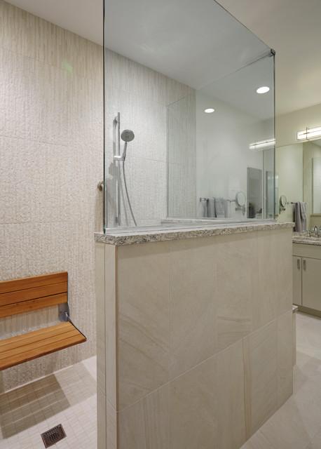 Lincolnshire Contemporary Condo  Contemporary  Bathroom