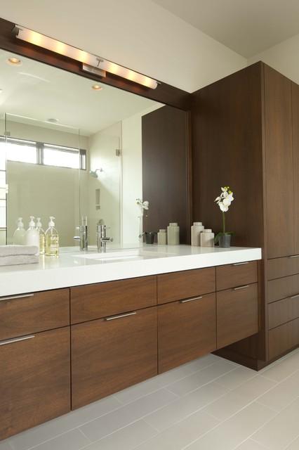 Linden Hills Contemporary contemporary-bathroom