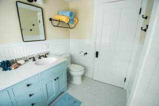 Linden Traditional Bathroom Portland Maine By