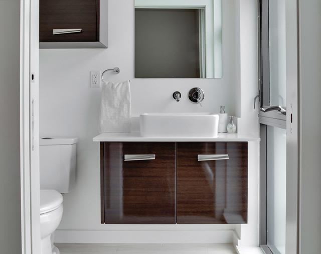 Lisbon lofts contemporary bathroom oklahoma city for Bathroom cabinets okc