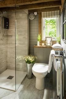 Petite salle de bain montagne : Photos et idées déco de ...