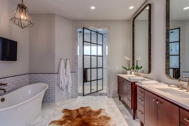Little hollywood house contemporary bathroom for Hollywood bathroom design