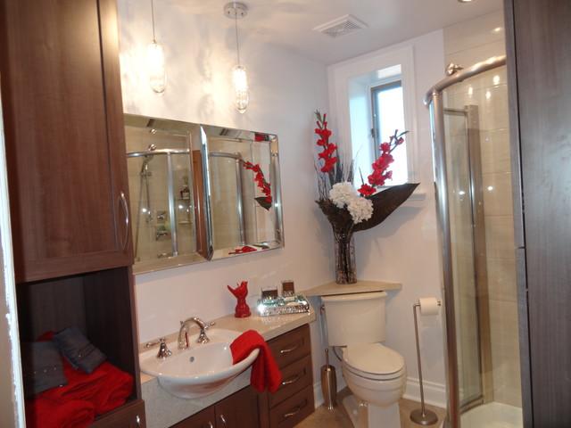 Little transformed bathroom contemporary-bathroom