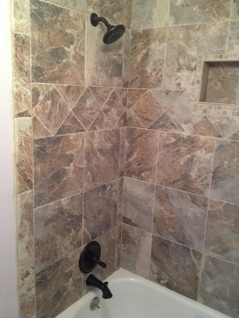 Littleton co bathroom modern bathroom denver by for Bathroom remodel 80122