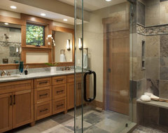 Living Stone Construction, Inc. contemporary bathroom