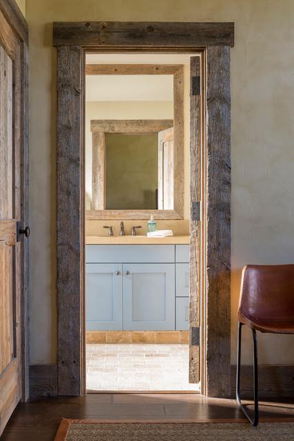 Llano Ranch - Rustic - Bathroom - austin - by Cornerstone Architects