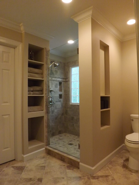 Lochmere Cary Nc Master Bathroom Remodel Traditional