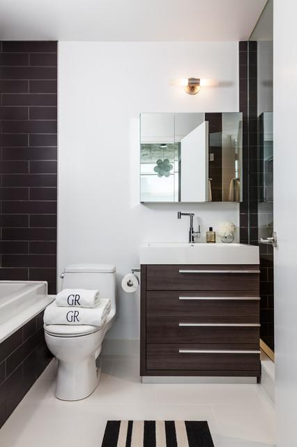 Loft 002 modern bathroom toronto by rad design inc - Bathroom design toronto ...