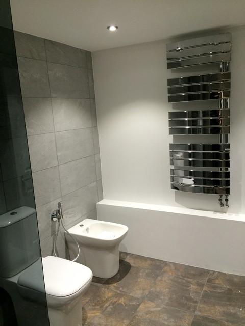 loft bathroom. Black Bedroom Furniture Sets. Home Design Ideas