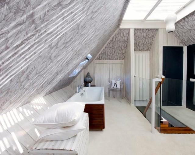 Loft Bedroom Contemporary Bathroom South East By