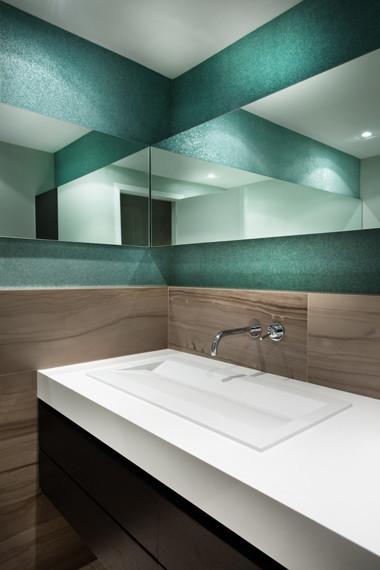 LOFT contemporary-bathroom