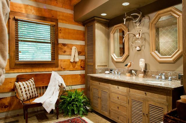 Log Cabin Bath Traditional Bathroom Nashville By