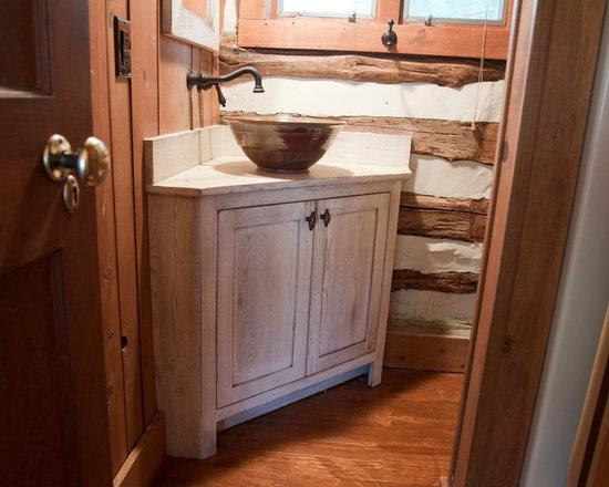 Farmhouse Vessel Sink : Farmhouse Vessel Sink Home Design, Photos & Decor Ideas