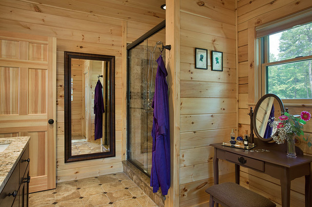 Bathroom Ideas Log Homes Pictures Of Log Home Bathrooms. Saveemail. Log  Cabin Decor For