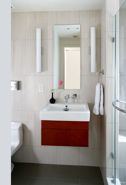 Logan Circle, Washington DC Residence - contemporary - bathroom
