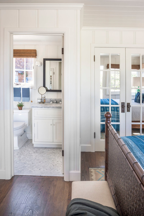 Houzz Cottage Living Room: A Joyful Cottage: Living Large In Small Spaces