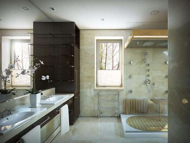 Lompier Interior Group contemporary-bathroom