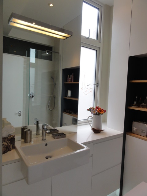 London Flat Modern Bathroom London By Hone Interiors Design And Style