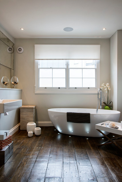 London nw1 contemporary bathroom london by my for Interior stylist london