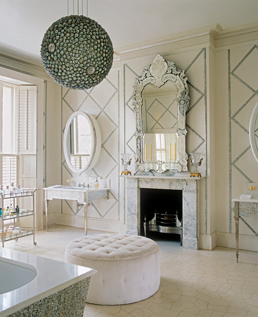 London Townhouse & Mews victorian-bathroom