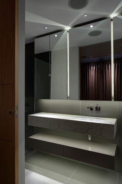 London townhouse for Bathroom interior design london