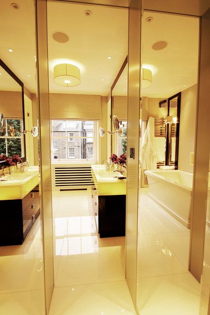 London townhouse contemporary bathroom london by for Home automation shower
