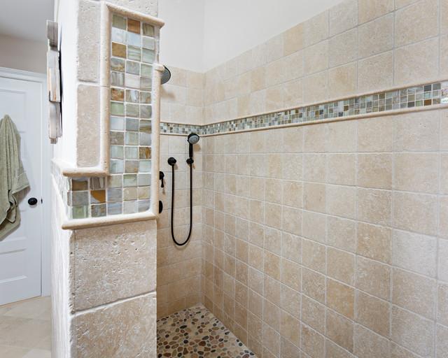 Long Beach Island Cottage Beach Style Bathroom New York By