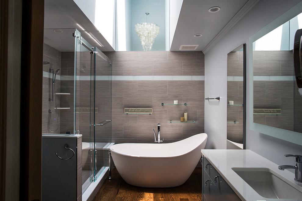 Long Island Residence - Contemporary - Bathroom - New York ...