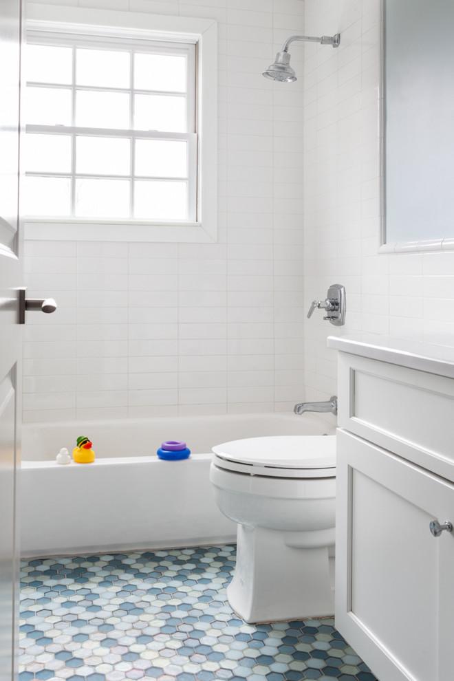 Long Island Starter Home - Transitional - Bathroom - New ...