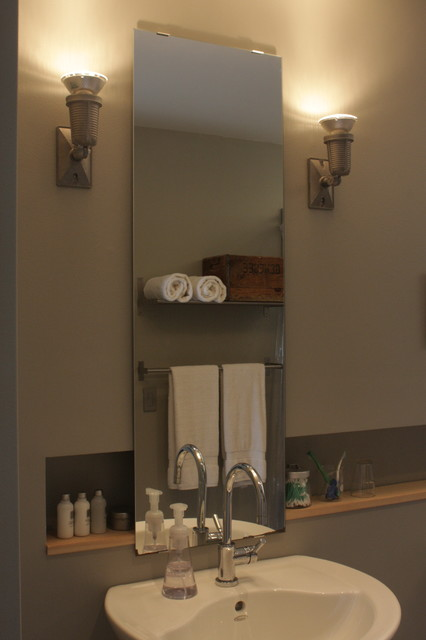 Longhouse Modern Bathroom Portland Maine By 30x40 Design Workshop