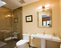 Los Altos Hills Bathroom Remodel contemporary bathroom