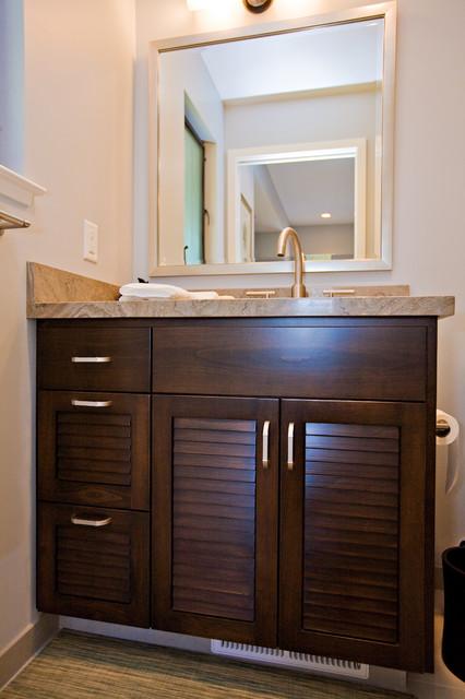 Los Altos Hills Bathroom Remodeling tropical-bathroom