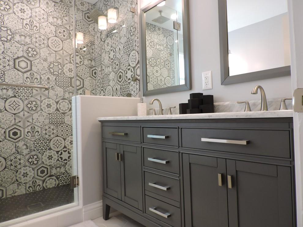 Los Angeles Complete Remodel - Contemporary - Bathroom ...
