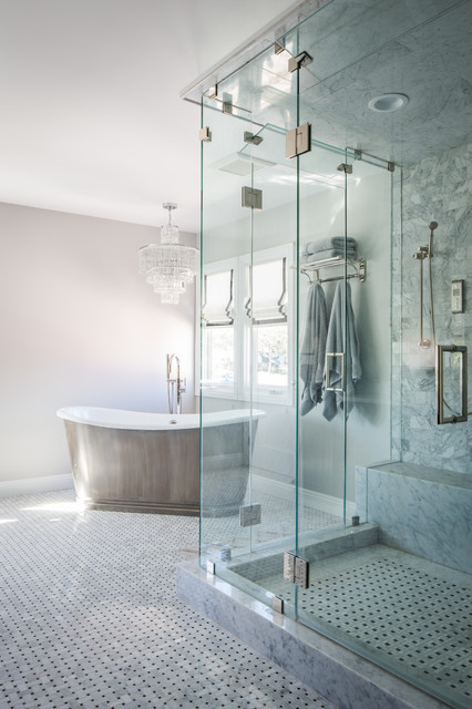 Los Angeles Transitional Bathroom Los Angeles By Future Home Builders Inc