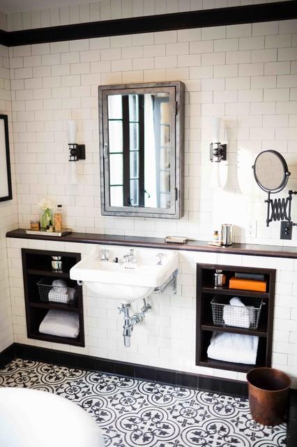 Los Feliz traditional-bathroom