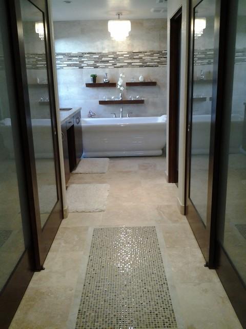 Los Feliz Drive Master Bathroom Remodel contemporary-bathroom