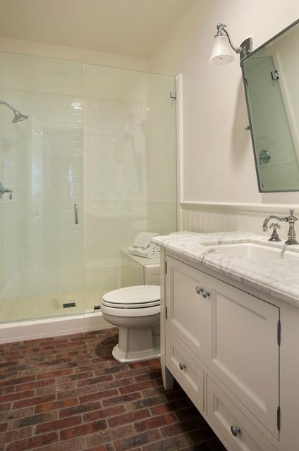 Basement Bathroom Traditional Bathroom San Francisco