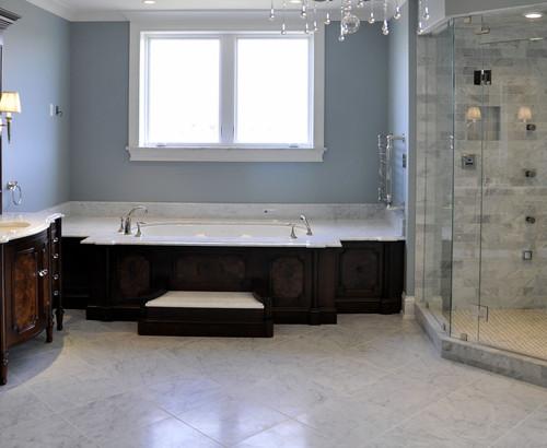 μπάνιο, ξύλινα έπιπλα