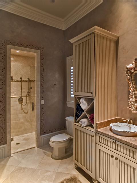 Love Shack traditional-bathroom