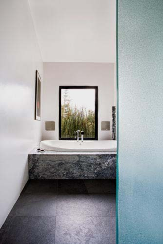 Lovell Residence modern-bathroom