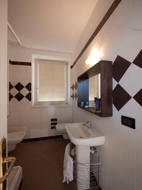 Low cost bathroom renovation modern bathroom milan by liadesign Bathroom renovation cost usa