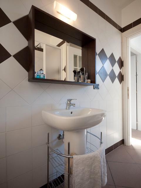 Low cost bathroom renovation modern bathroom other metro by liadesign Bathroom renovation cost usa