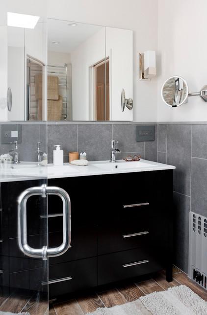 Lowe's Bathroom/Laundry room makeover - Bathroom - new york - by Rikki ...